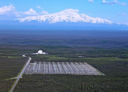 HAARP field in Alaska