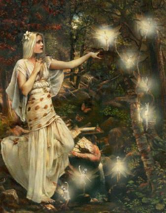 I can see fairies
