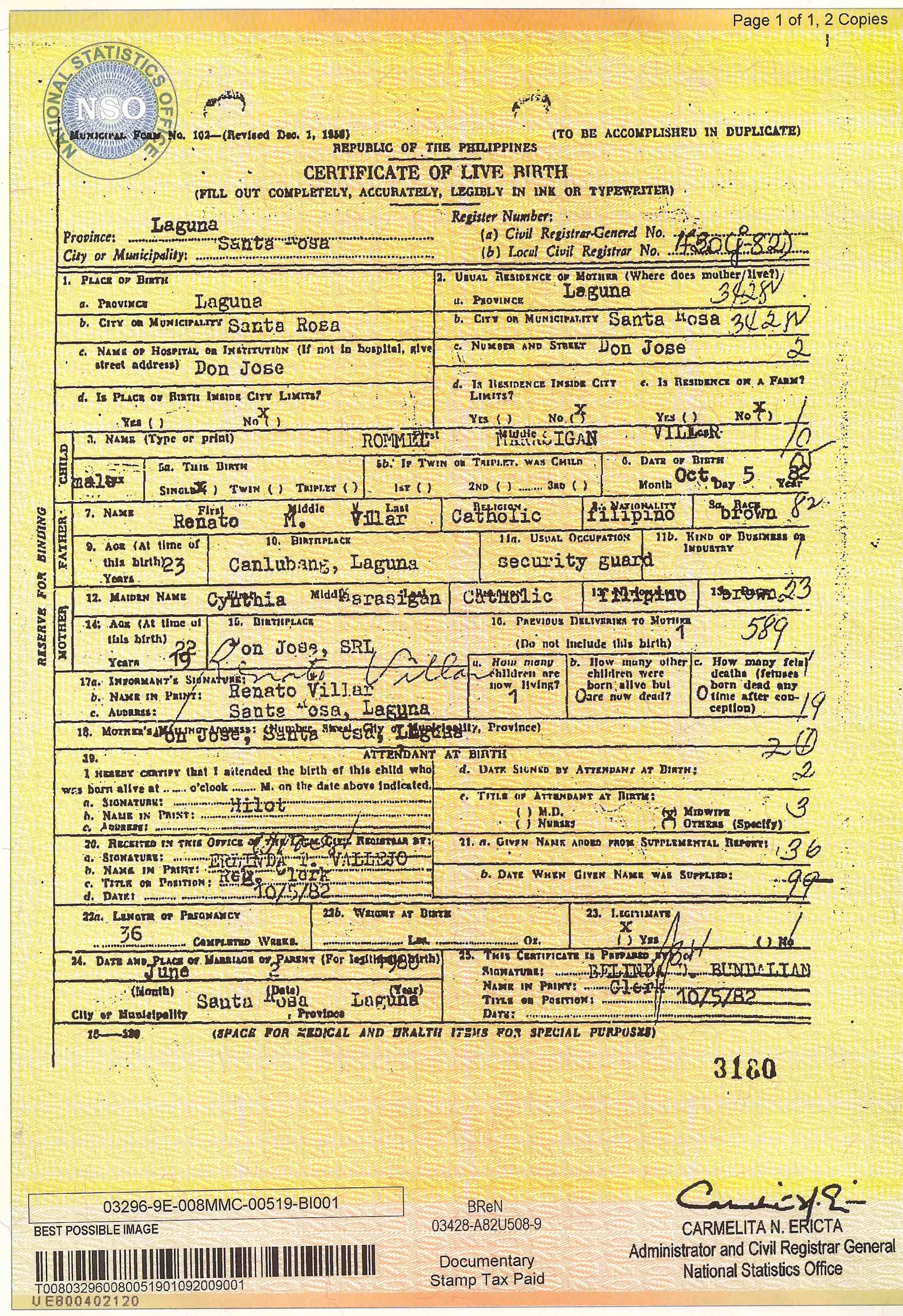 Birth certificate and bond the dark truth birth certificate and bond aiddatafo Image collections