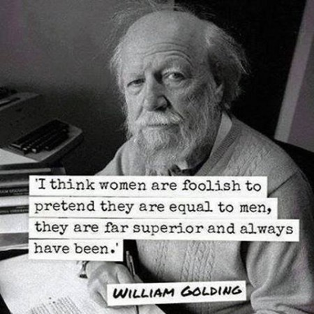 1 William Golding on women