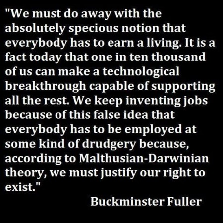 buckminster fuller on jobs